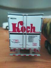 Volvo Koch Semi and Peterbilt kwik trip semi toy display