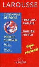 Larousse Pocket Dictionary: French-English/English-French (Larousse Pocket