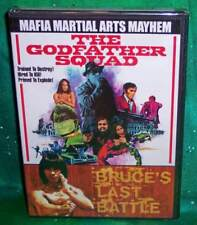 NEW OOP GODFATHER SQUAD BRUCE'S LAST BATTLE DOUBLE FEATURE MARTIAL ARTS DVD