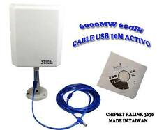 Adptador Wifi +Antena 10 M Cable SIGNAL KING 10 TN Envio Urgente 24H