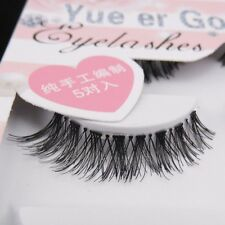 You must have! ! ! Hot sale HW-8 5 pairs / lot messy cross Long False eyelashes