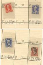 US  Officials  stamps   lot in circuit  book     LOOK
