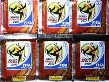 Lot 50 Pochettes de vignettes PANINI FOOT SOUTH AFRICA 2010 FIFA WORLD CUP