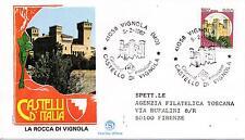 Repubblica Italiana 1987 FDC Filagrano Castelli d'Italia L. 380