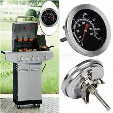 Thermometer Bratenthermometer Edelstahl BBQ Gasgrill Grillthermometer 50°C-350°C