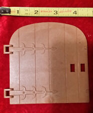 PLAYMOBIL Replacement MEDIEVAL Rounded CASTLE BARN DOOR Only 3666 3667 Knights