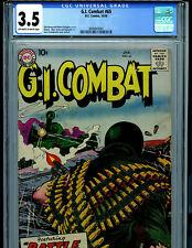 G.I. Combat #65 CGC 3.5 1958 DC Comics Amricons K28