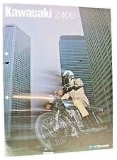 Kawasaki z400 motocicleta Oldtimer folleto original publicidad 5.1 2548 dl13