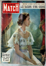 PARIS MATCH 1950 ANGLETERRE MARGARET DOIT CHOISIR ....