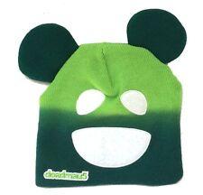 Deadmau5 Face & Ears Design Green Beanie Ski Hat New Official Merch