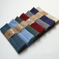 8PCS Washable Everyday Basic kitchen cloth natural Pure Linen Napkins tea towels