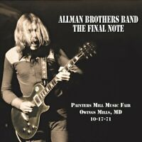The Allman Brothers Band - Final Note [New CD]