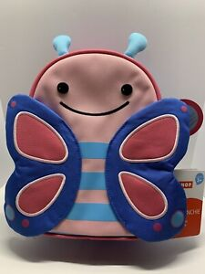Skip Hop Zoo Lunchie Blossom Butterfly Child's Insulated Lunch Bag New