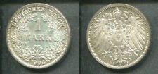 KAISERREICH 1904 D - 1 Mark in Silber, stgl. - WAPPEN