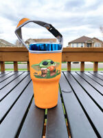 YODA Tumbler Holder, For 30oz Yeti RTIC Polar Camel Tumblers 32oz Hydro Flask