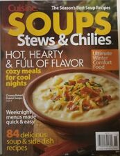 Cuisine Soups Stews & Chilies March 2018 Hot Hearty Flavorful FREE SHIPPING MC