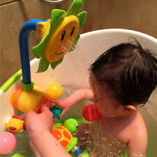 Baby Bath Toys Children Sunflower Shower Faucet Bath Toy for Kids Bath Toys