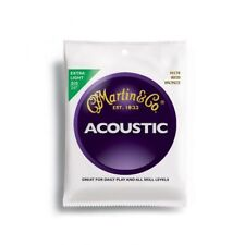 Martin M170 80/20 Bronze Round Wound Extra Light Acoustic Guitar Strings 10 - 47