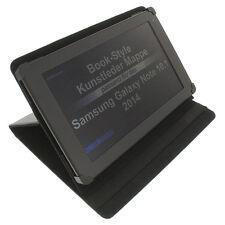 Custodia per Samsung Galaxy Note 10.1 2014 Edition Book Style Guscio Protettivo Nero