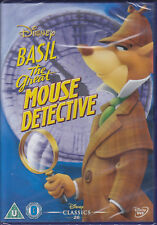 Basil the Great Mouse Detective (Disney Animated Classic) New & Sealed UK R2 DVD