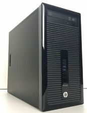 HP ProDesk 400 G1 MT 4th Gen 3.40 GHz 240GB SSD 1TB HDD 8GB RAM Windows 10 WiFi