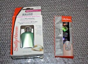 SALLY HANSEN COMPLETE SALON MANICURE #322 & SALON K DESIGN #501 LOT OF 2 BOXED