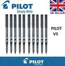 3 X Pilot Hi-Tecpoint V5 RT Tinta Líquida Retráctil Rollerball Pluma (color Azul)