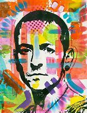Dean Russo Art Original Artwork Music Chester Bennington Art Linkin Park