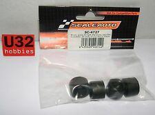 Scaleauto SC-4727 Pneus Rt Souple 20x12 pour Jante 15.2, 17.2, 18.5, et 20mm