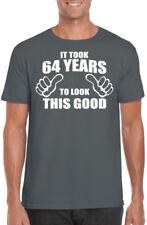 Magliette da uomo grigi grafici marca Gildan