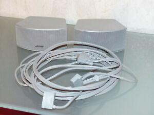 BOSE GS 321 Cinemate 321 II III GSX Lautsprecher Gemstone + Kabel