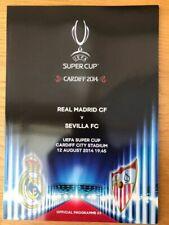 UEFA Super Cup 2014 - Real Madrid - Sevilla 2-0 DVD Full Match
