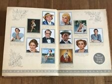 Album cards FILM STARS 1937 COMPLETE -6 sticker movie poster cinema cromos cine