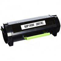 Lexmark 60F1X00 Reman High Yield Toner for MX510de/511de MX610de/611de 20K Pages