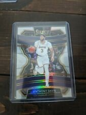 2019-20 Panini Select Silver Prizm Anthony Davis Los Angeles Lakers Concourse