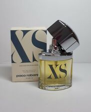 VINTAGE PACO RABANNE XS POUR HOMME 50 ML EDT SPRAY, 1993, NEW AND BOXED