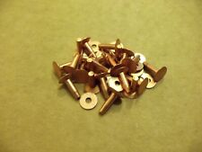 Copper Rivets & Burrs 1/2