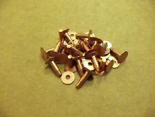 "Copper Rivets & Burrs 1/2"" 12 gauge Sca (100 Sets)"