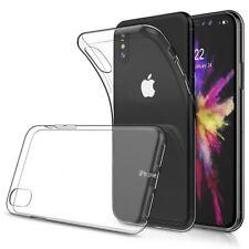 Crystal Case für Apple iPhone X Transparent TPU Silikon Schutz Hülle Cover