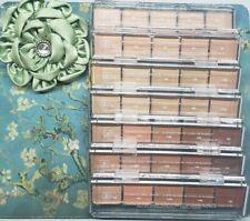 Arbonne 7 Pc Foundation Color Selector Palettes Samples/Testers Rare Htf