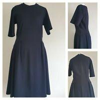 Whistles Navy Dress Size 10 (C1)