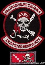 USAF 63rd AIR REFUELING SQUADRON - ARRG + POCKET TAB - ORIGINAL AIR FORCE PATCH