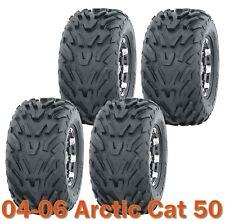 2004-2006 Arctic Cat 50 ATV complete Set of tires 16x8-7 4PR