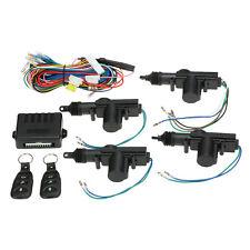 Universal Car Central Door Lock Auto Locking Keyless Entry System Kit 4 door 12V