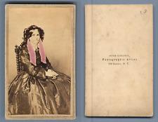 Kohlbeck, New York CDV vintage albumen carte de visite,  Tirage albuminé  6,