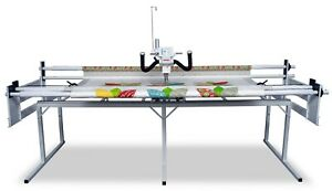 """Janome Quilt Maker 18"""" Long Arm Sewing Machine with 8' Quilting Frame"""