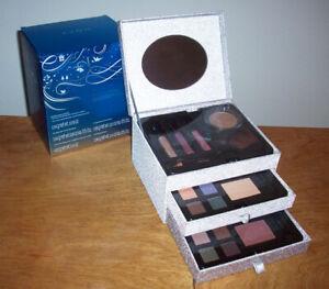 NEW Avon Gilded Treasures 28 Pc Makeup Set Blush Eyeshadow Lip Gloss Jewelry Box