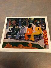 Ta Matete by Paul Gaugin Art Print No 24189 by SPADEM & Braun et Cie 1955