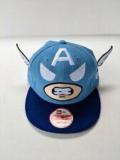 New Era Tokidoki Wings Captain America Hat Cap 2011