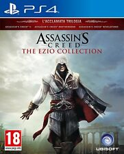 Assassin's Creed The Ezio Collection PS4 - totalmente in italiano